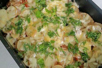 Блюдо из картофеля ресторанного уровня «МЯСО ПО-ФРАНЦУЗСКИ» за 30 минут