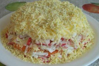 Обалденный салат «Воздушный»