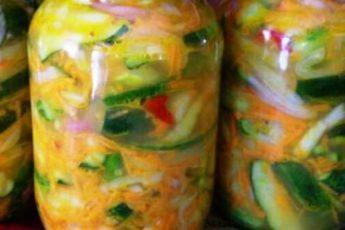 Вкуснейший салат на зиму «Пикантный». Дежурный салат зимой.