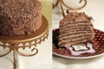 Торт «Трюффель» по специальному рецепту