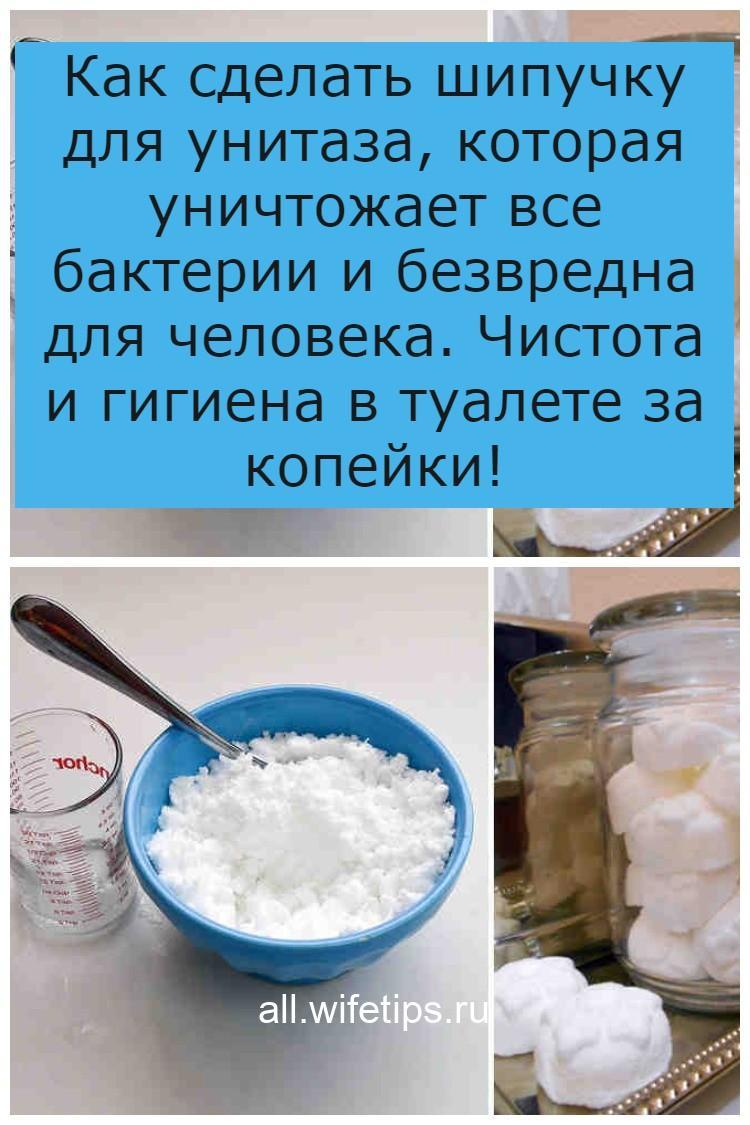 Как сделать шипучку для унитаза, которая уничтожает все бактерии и безвредна для человека. Чистота и гигиена в туалете за копейки!